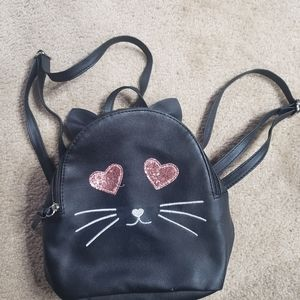 Cat kitty backpack purse bag